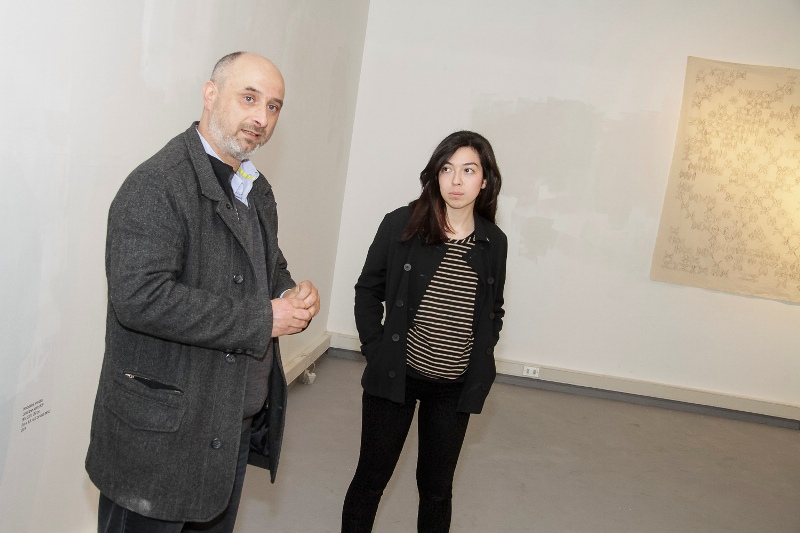 """_Muestra """"Vencedores Vencidos"""" se inauguró en nueva sala de exposiciones de Campus Creativo"""
