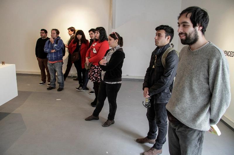 """Muestra """"Vencedores Vencidos"""" se inauguró en nueva sala de exposiciones de Campus Creativo"""