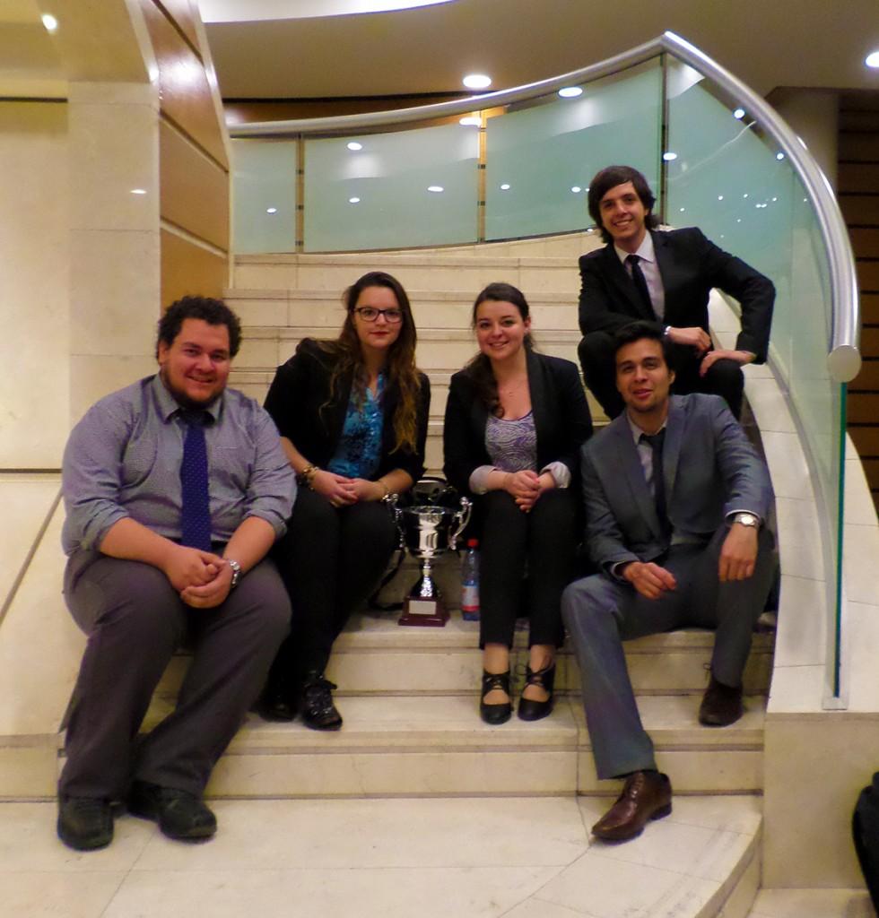 UNAB obtiene primer lugar en la Liga Metropolitana de Debate